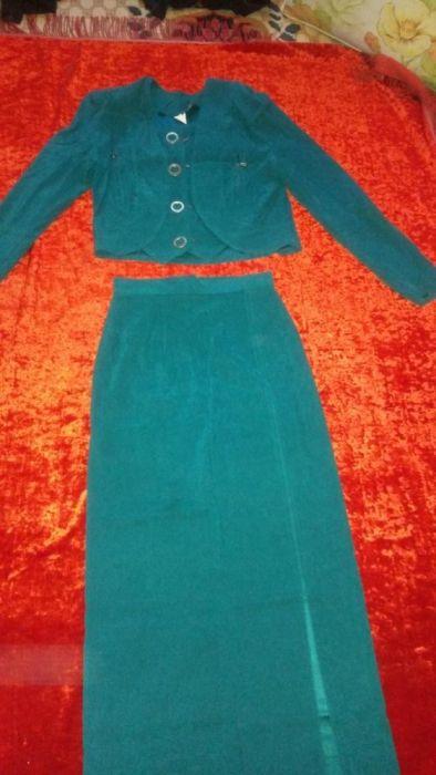 Двойка юбка жакет-костюм