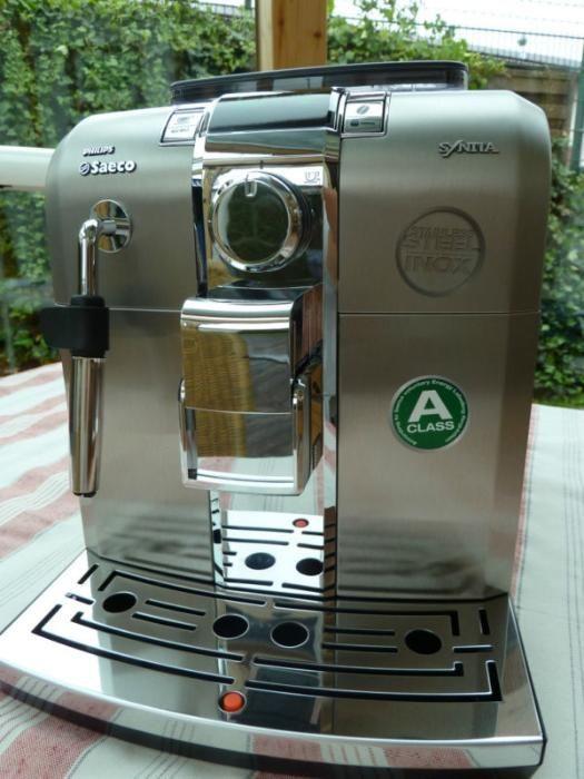 """Моделът е спечелил наградата """"Espresso Perfetto"""" Saeco Syntia Class"""