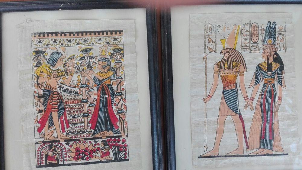 2 папируса в рамки