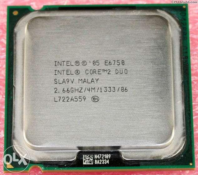 Vand Procesor 2COREDUO E6750 ,2,66GHZ-FSB1333-4 MB-CACHE OC-MAX3,8GHZ
