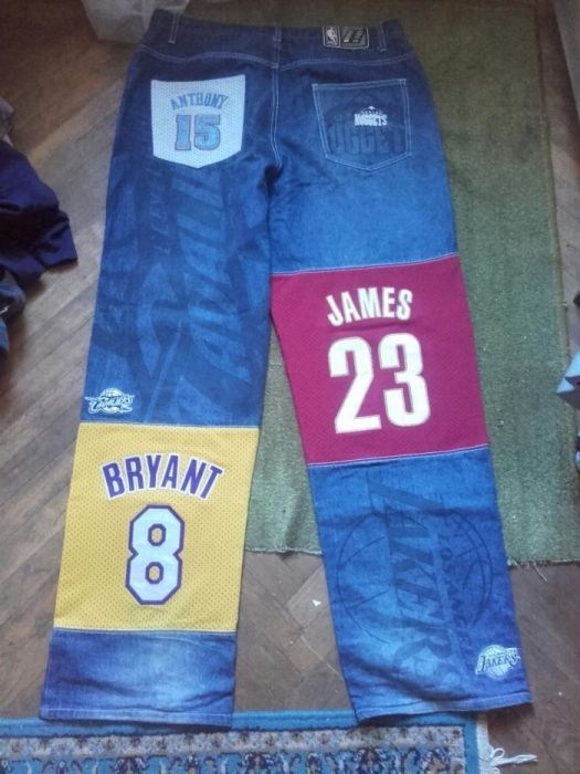 NBA basket jeans limited edition