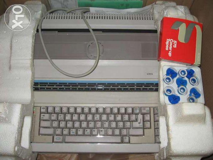 Masina de scris electronica Xerox 6001