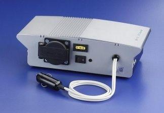 Invertor sinusoidal filtrat 12V/150W, alimentare bricheta auto