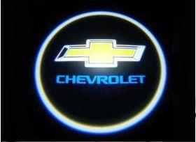 Proiector laser cu logo/marca Chevrolet pentru iluminat sub usa
