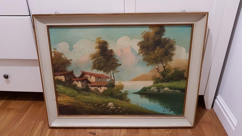 Vand tablou în ulei pe panza