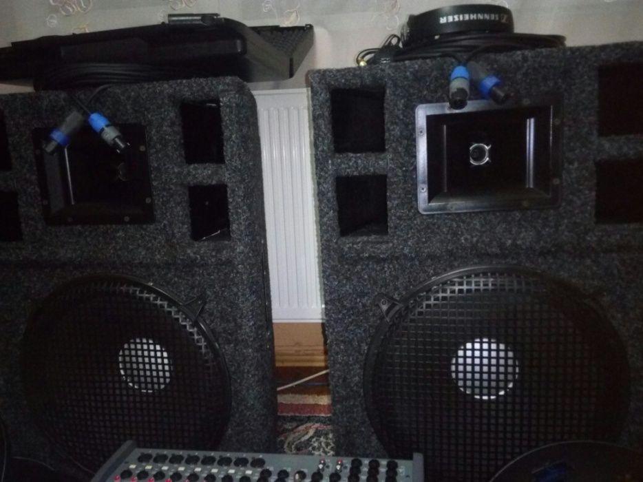 Mixer Ld Systems PM 12-2,boxe,microfon,casti,cabluri
