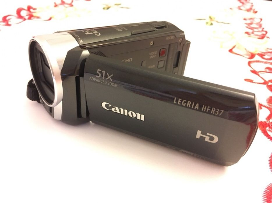 Canon Legria HF R37 FullHD Wifi