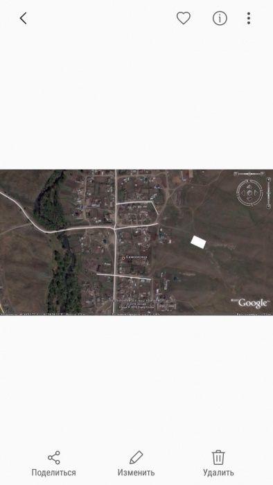 Продам земельный участок в селе Самсоновка