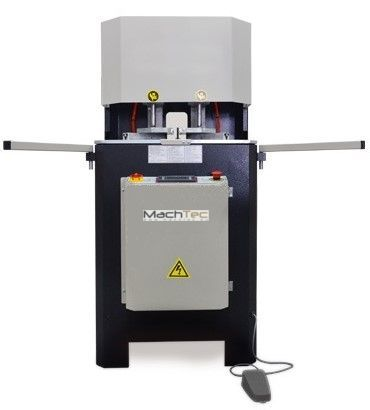 Едноглава залепваща машина / лепачка за ПВЦ дограма с нулев шев / PVC