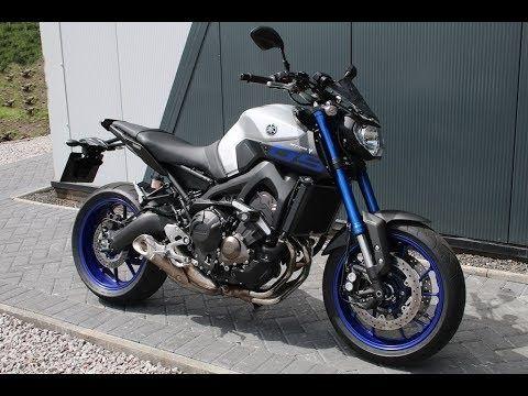 Yamaha MT09 2014 г. на части