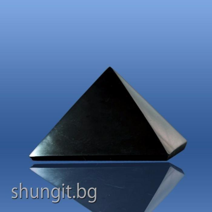 Пирамида от шунгит 3x3 см