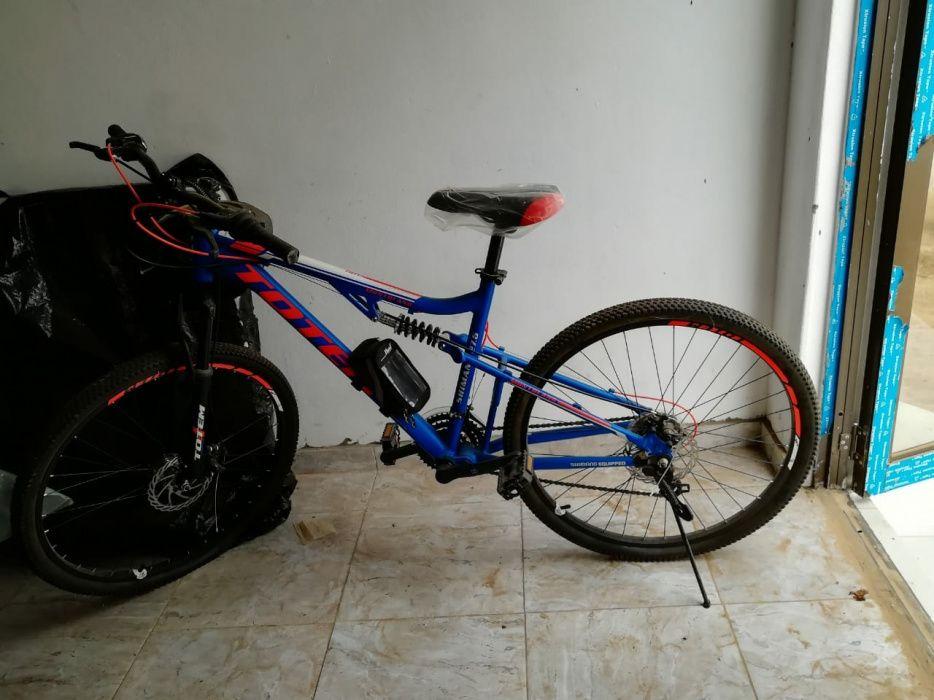 Bicicleta azul nova Alto-Maé - imagem 4