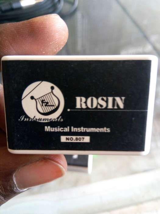 Rosin ou breu pra violino