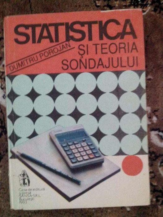 Statistica si teoria sondajului