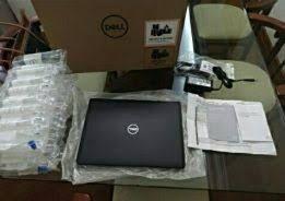 Computadore de marca dall novo na caixa venda