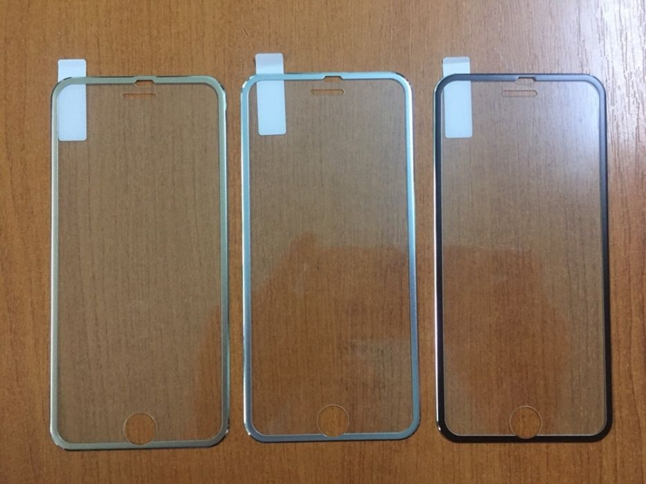 Folie sticla iPhone 3D 6 7 8 6 plus, 7 plus, 8 plus