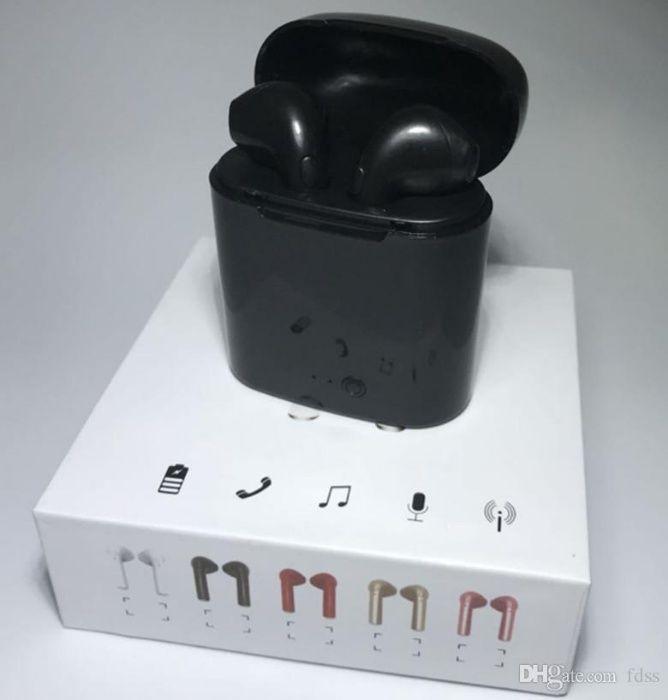 Vendo i7s-tws Mini Auriculares Wireless Bluetooth Porátil - PRETO