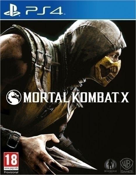 Новый диск Mortal Kombat X [PS4] магазин GAMEtop