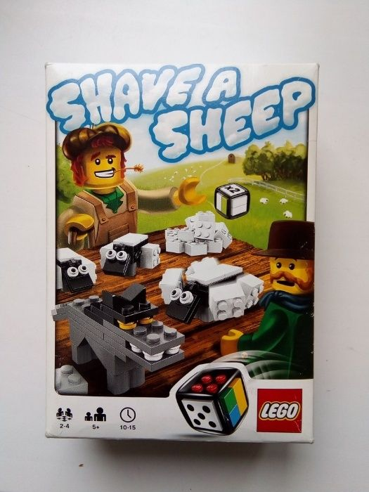 Игра lego shave a sheep