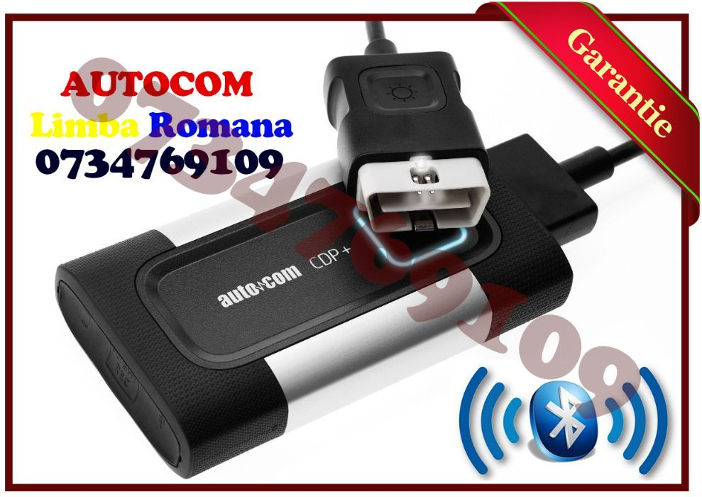 Tester Auto Multimarca Diagnoza auto Multimarca AUTOCOM Bluetooth 2019 Bucuresti - imagine 1