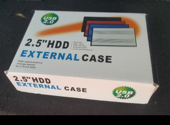 case pr disco duro externo a 600mt