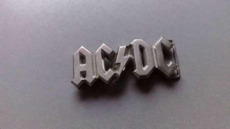 AC/DC и Nightwish - оригинални токи за кожен колан