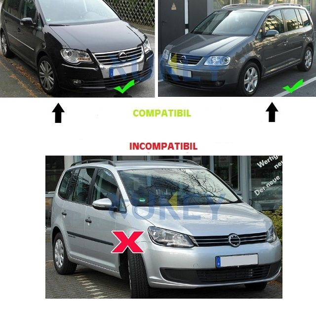 Aparatori noroi VW Touran 1 I Non-Facelift (2003-05.2010) Timisoara - imagine 3