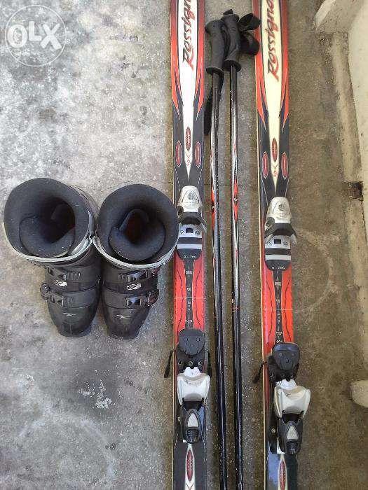 Ski Rossignol Bandit + bocanci Rossignol Salto + bete