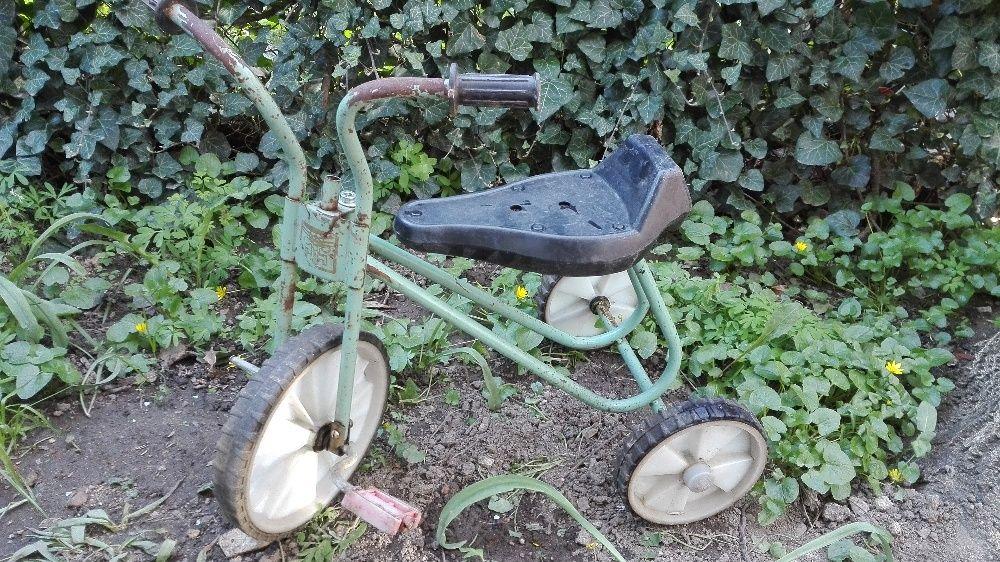 Триколно детско колело,детско камионче