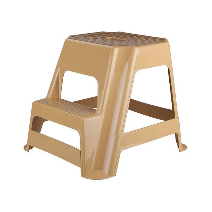 Табурет - стремянка (ступенька) пластиковый, М3945