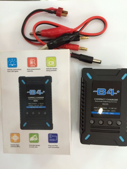 Incarcator LiPo Imax B4 2-4S charger rapid 4 Ah pt acumulatori lipo