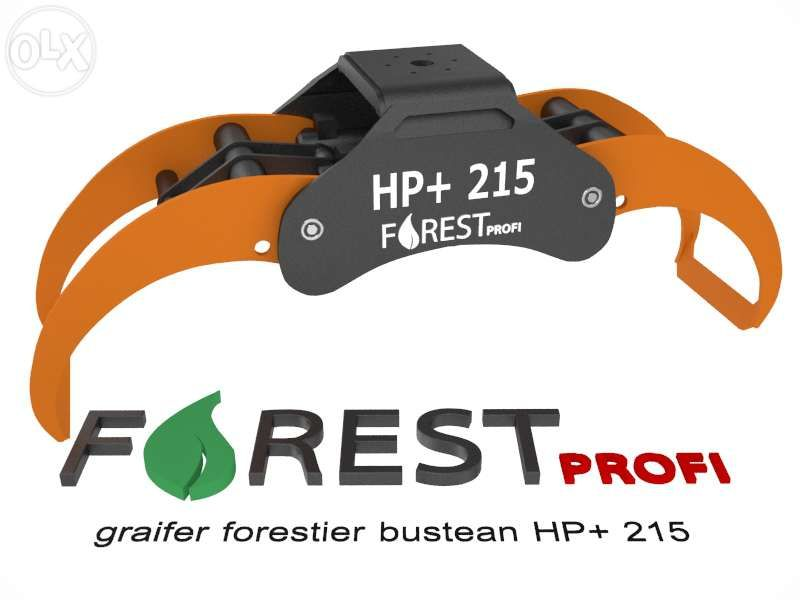 Graifer forestier HP+ 215 deschidere 2150mm
