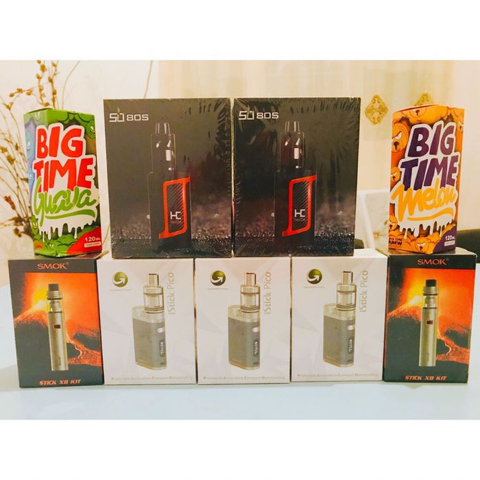 Vapes(cigarros electricos) selados