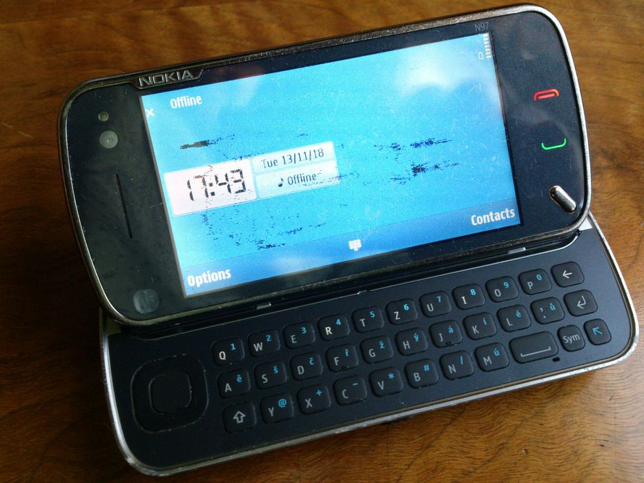 Nokia Nseries mod: N97-1 - 5MP - 1500mAh
