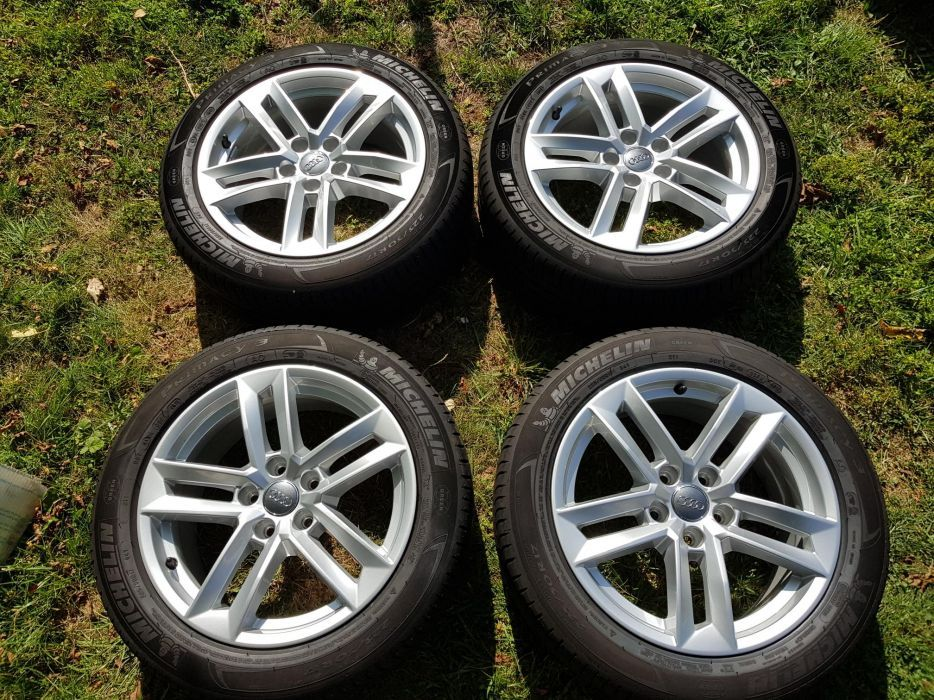 "4бр. оригинални джанти Audi 17"" 5x112 + гуми"