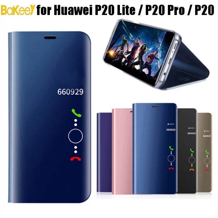 Husa Flip Huawei Stand Mirror Huawei P20 / Huawei P20 Lite / P20 Pro