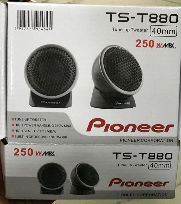 Twitter Pioneer 250w(max) TS-T880. Disponível