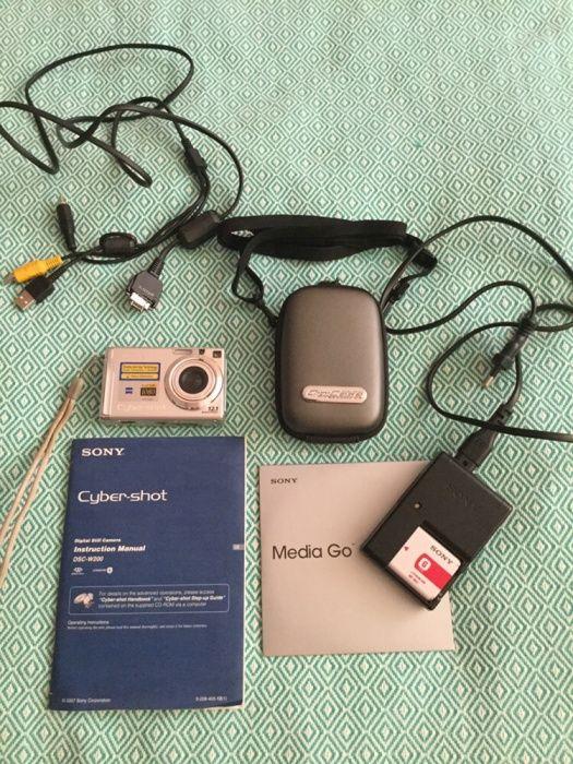 Цифровой фотоаппарат SONY Cyber-shot DSC-W200