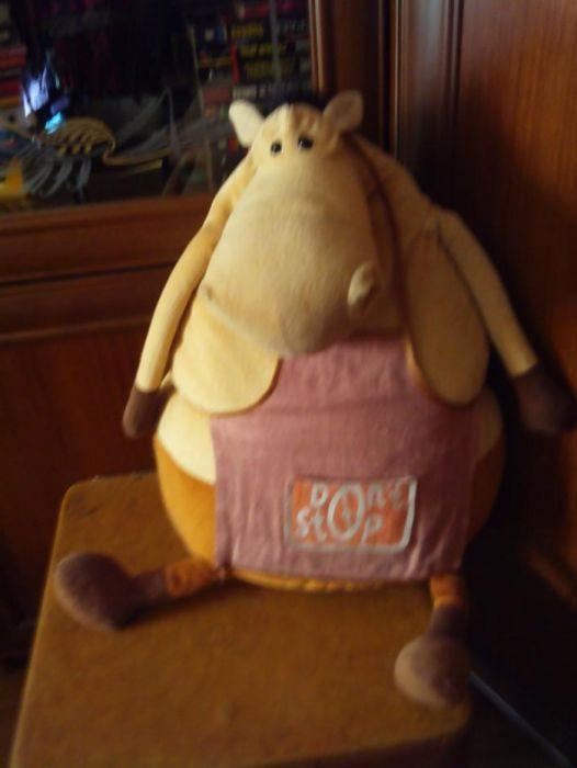 "мягкая игрушка--подушка-- "" креативная лошадь"""
