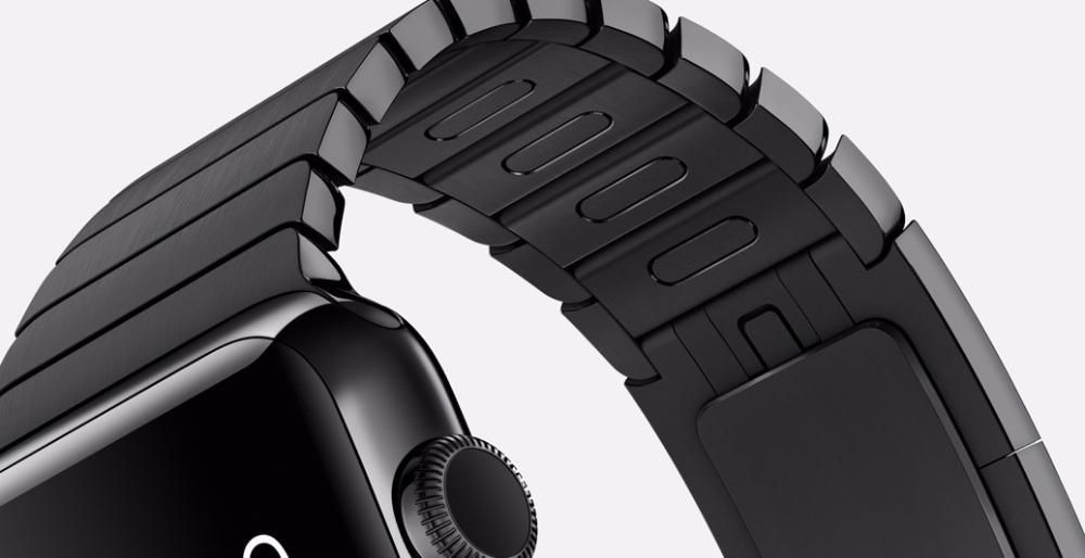 Блочные стальные браслеты Link для Apple Watch 1/2/3 новые