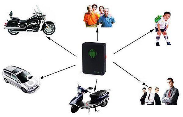 Бръмбар подслушвател GPS тракер / проследяващо устройство ГАРАНЦИЯ