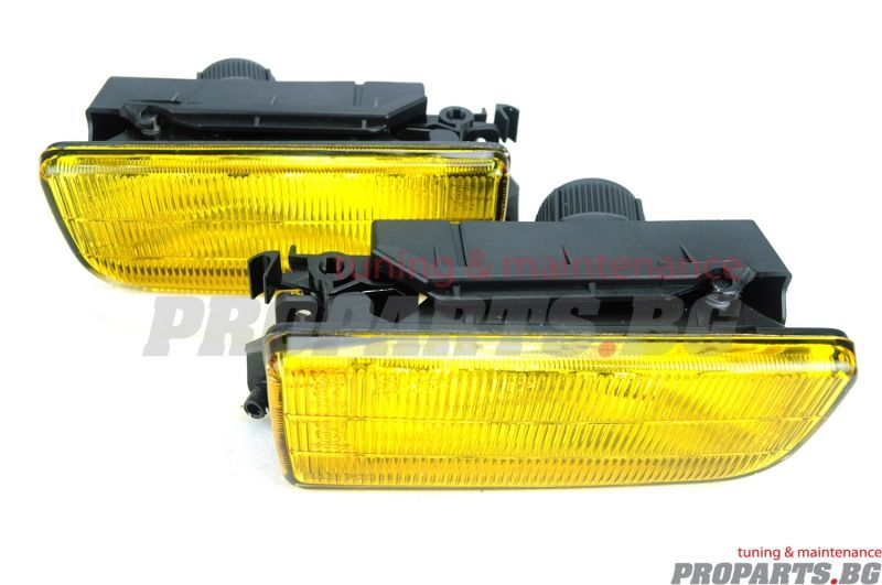 Жълти фарове за мъгла OEM дизайн BMW e36 3-та серия 91-00
