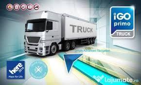 Actualizare harti GPS camion