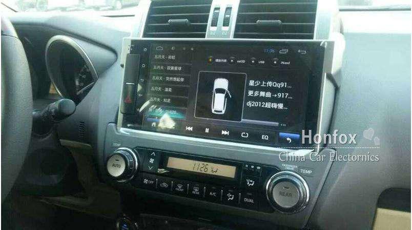 Radio Android Toyota Prado TX.L - VX