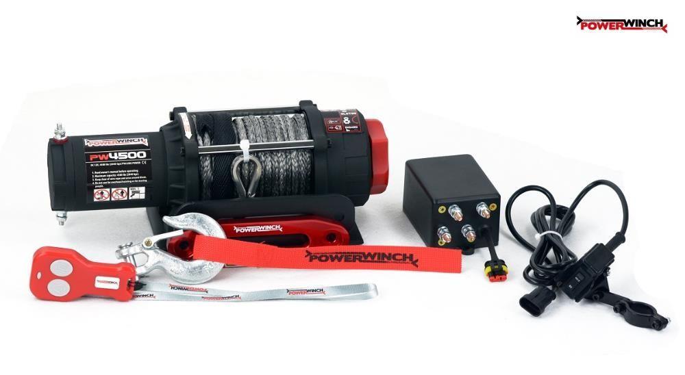 Troliu pentru ATV si UTV PW 4500 SR cu plasma PowerWinch-NOU