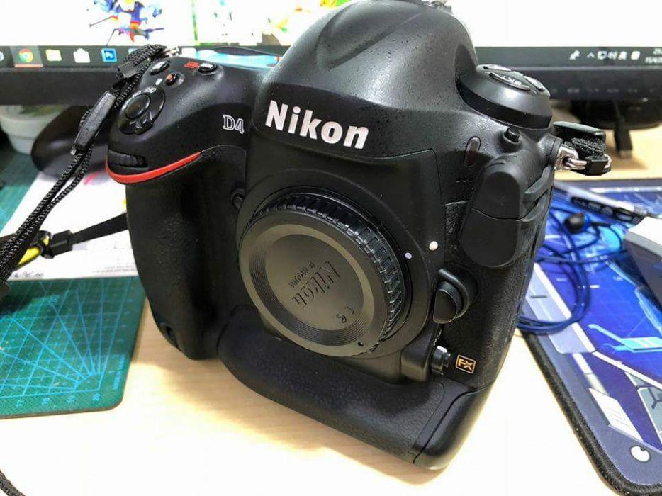 Vendo Nikon D4 corpo