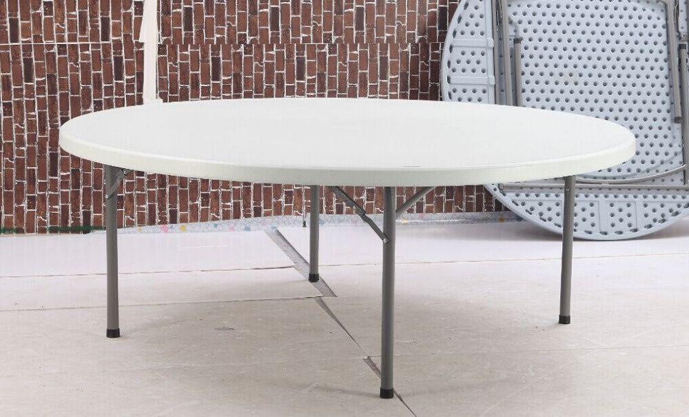 Promoçao de mesas dobraveis 10 lugares
