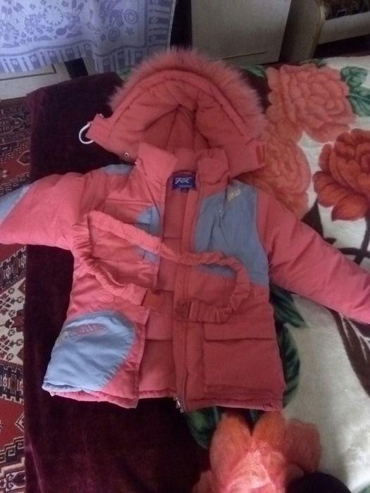 Куртка детская красная
