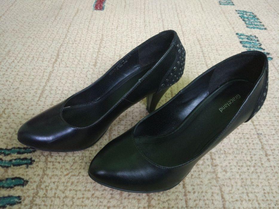 Pantofi negri Graceland Deichmann 38