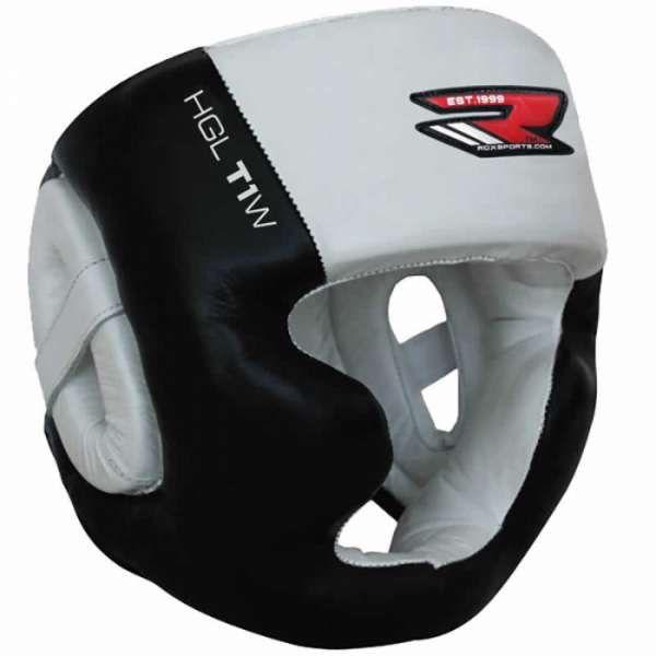RDX Zero Impact Leather Head Guard - протектор за глава размер М